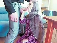 Arab Maid Zoe Blows Massive Cock Of Boss