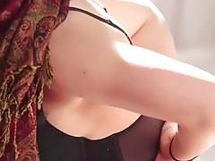Arab babe Nadia Ali gets pussy fucked by huge black dick