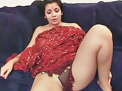 Indian Honey Stripped And Double Teamed