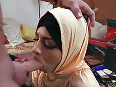 Marvelous Arab babes shows her blowjob skills before hardcore pussy pounding