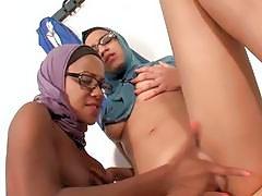 Sexy Arab Lesbians Very Horny