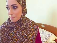 Alluring Arab babe fucked in the hotel room