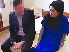 Innocent Arab girlfriend beautiful real tits squeezed hard cum sprayed