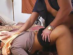Arabian Rose got her pussy banged hard and deep from behind